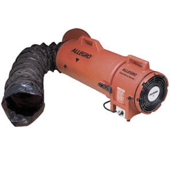 "Blower explosion proof 8"" with 25' Ducting"