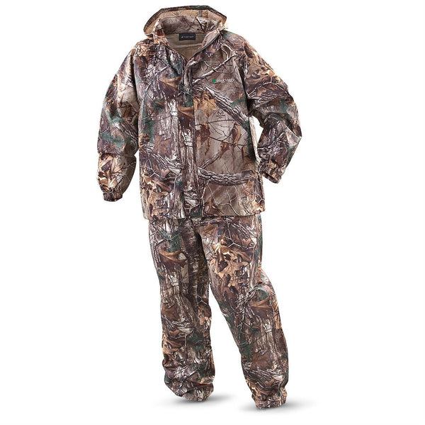 Camo Frogg-Toggs Rainsuit Large