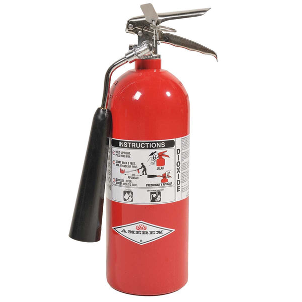 Amerex 5 Lb. CO2 Fire Extinguisher