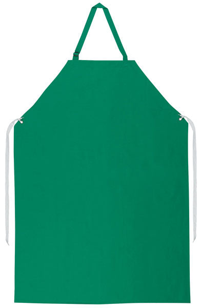 MCR Safety® 368R5 35 by 48-Inch Dominator II PVC/Polyester Flame Resistant Sewn Edge Apron, Green