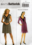 butterick 5173 maggy london dress
