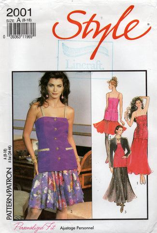 style 2001 90s evening wear