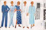Butterick 5947 EASY Womens Casual Jacket Dress Top & Pants 1990s Vintage Sewing Pattern Sizes 20 - 24 UNCUT Factory Folded