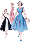 Butterick B4790 Womens Walkaway Full Skirt Wrap Dress Reissue of 1950s Sewing Pattern Size 8 - 14 or 16 - 22 UNCUT Factory Folded