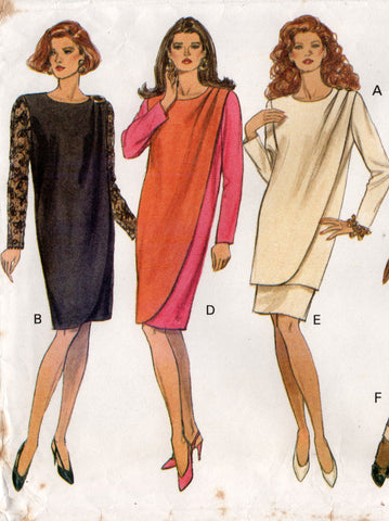 butterick 6471 dress tunic pants skirt