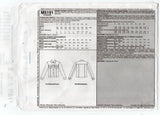 McCall's 5191 Palmer Pletsch CLASSIC FIT Womens Denim Jean Jacket OOP Sewing Pattern Sizes 16 - 22 UNCUT Factory Folds