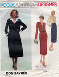 vogue 2115 don sayres skirt suit 70s