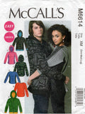 McCall's 6614 oop unisex stretch top and jacket