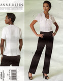 Vogue 1294 anne klein pants and blouse