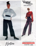 Vogue 2246 Montana 80s top and pants
