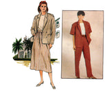 Butterick 3177 J G HOOK Womens Jacket Pants & Skirt 80s Vintage Sewing Pattern Size 14 16 18 UNCUT Factory Folds