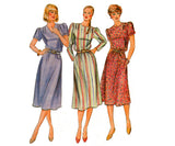 Butterick 4279 BELLE FRANCE Womens Straight Dress 1980s Vintage Sewing Pattern Size 10 UNCUT Factory Folded
