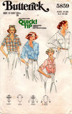 butterick 5859 70s shirt