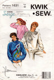 Kwik Sew 1631 womens stretch tops
