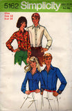simplicity 5162 70s body shirts