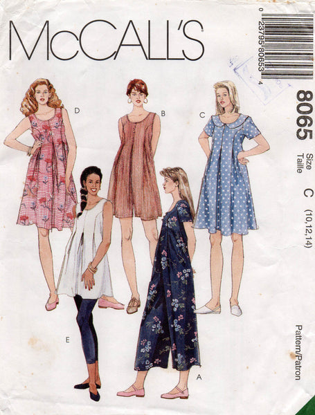 McCall's 8065 maternity wear