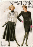 new look 6011 90s jacket and skirts