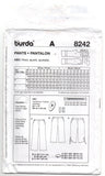 Burda 8242 PLUS Size Womens Hipster Pants OOP Sewing Pattern Sizes 18 - 34 UNCUT Factory Folds