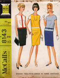 McCall's 8143 60s top and skirt