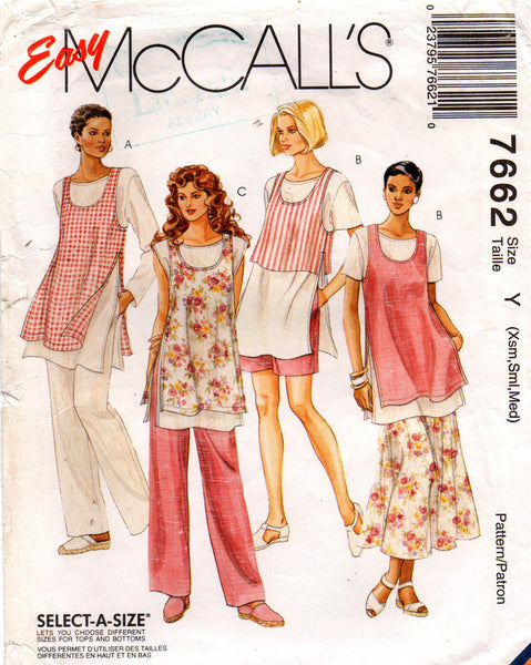 McCall's 7662 90s separates