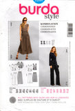 Burda 7208 out of print stretch coordinates