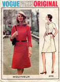 Vogue 2770 Molyneaux dress 70s