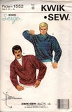 Kwik Sew 1552 mens sweaters