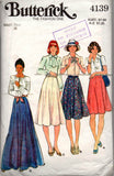 Butterick 4139 70s skirts