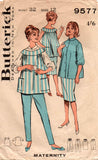 Butterick 9577 60s maternity wear