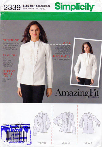 simplicity 2339 amazing fit oop shirts