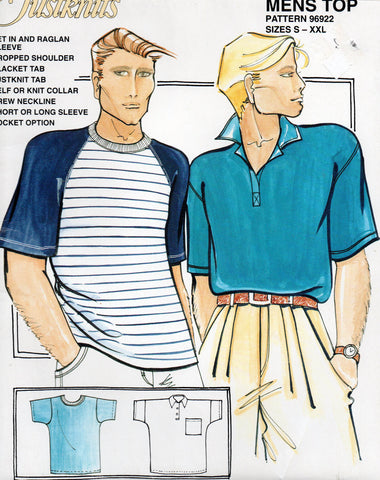 Justknits 96922 mens polo and t shirts