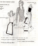 Bevknits 2200 Womens Stretch Knit Raglan Sleeve Tops 70s Vintage Sewing Pattern Size 8 - 20 UNCUT Factory Folds