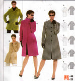 Burda 8292 Womens Coats & Jackets Sewing Pattern Sizes 10 - 22 UNCUT Factory Folds