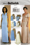 Butterick 3843 Womens Evening Tops & Skirts OOP Sewing Pattern Size 8 - 12 or 14 - 18 UNCUT Factory Folded