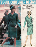 vogue 1423 jo mattli 60s suit