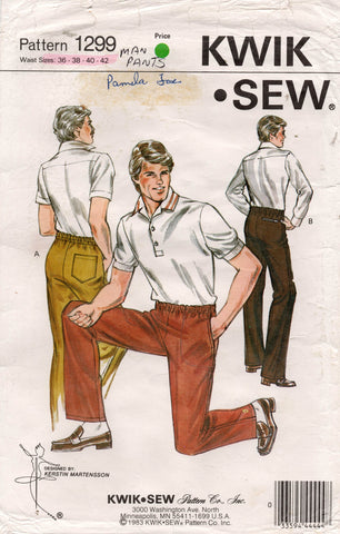 kwik sew 1299 mens pants