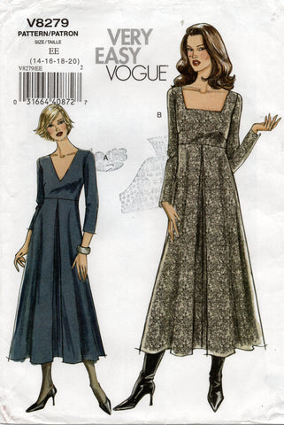 Vogue 8279 oop dress