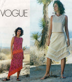 vogue 7299 oop top and skirts