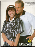knitwit 9250 family polo shirts 80s