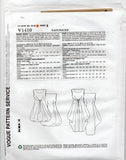 Vogue American Designer 1410 LYNN MIZONO Womens Draped Cinched Evening Dress Sewing Pattern Size 6 - 14 or 14 - 22 UNCUT Factory Folds