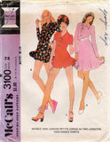 McCall's 3100 Womens Princess Dress & Dance Pants 1970s Vintage Sewing Pattern Size 14 UNCUT Factory Folds
