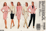 Butterick 5069 Womens Jacket Top Pants & Wrap Skirt 1990s Vintage Sewing Pattern Size 6 - 10 UNCUT Factory Folds