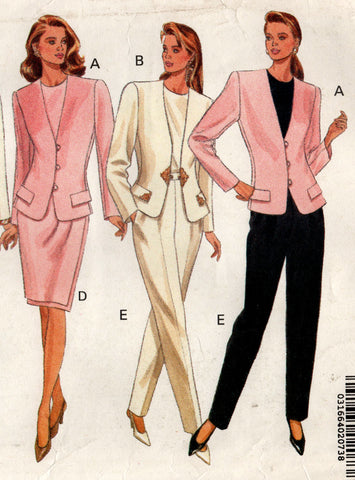 butterick 5069 90s suit