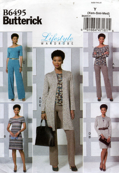 butterick 6495 lifestyle wardrobe
