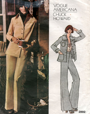 vogue 2892 chuck howard 70s