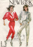 new look 6219 80s jumpsuit
