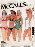 McCall's 6666 70s swimsuits
