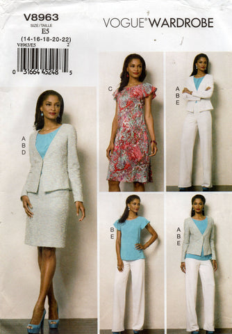 vogue 8963 oop separates