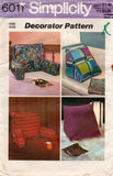 simplicity 6011 70s pillows