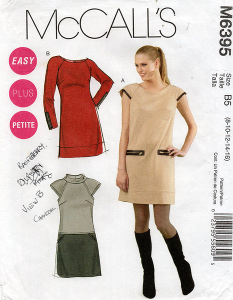 McCall's 6395 oop stretch dress